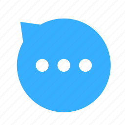 chat, cloud, cloudy, dialogue, left, talk, up icon