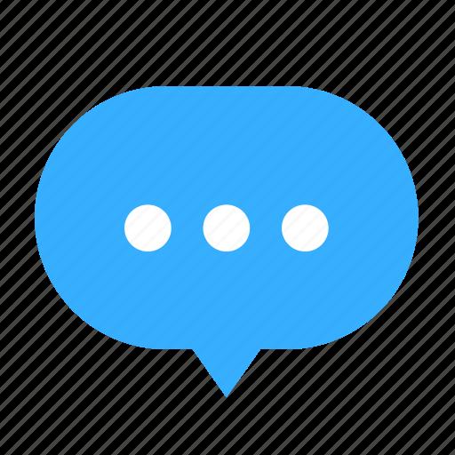 bubble, center, cloud, cloudy, dialogue, talk icon