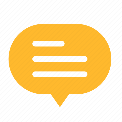 bubble, center, cloud, cloudy, dialogue, talk icon