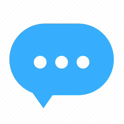 cloud, cloudy, dialogue, dot, left, talk icon