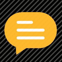 cloud, cloudy, dialogue, left, narrow, talk icon