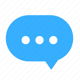 chat, cloud, cloudy, dialogue, dot, right icon