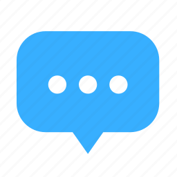 center, chat, cloud, cloudy, dialogue icon