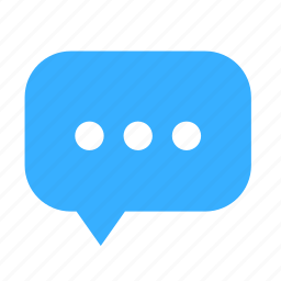 chat, cloud, cloudy, dialogue, dot, left icon