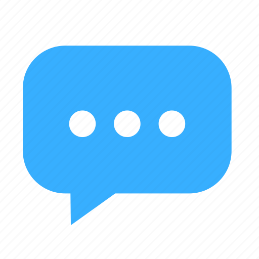 chat, cloud, cloudy, dialogue, dot, left, narrow icon