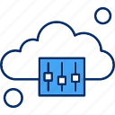 cloud, options, setting, weather icon
