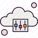 cloud, options, setting icon