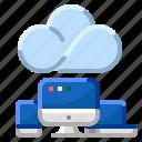 client, cloud, communication, internet, servernetwork icon