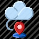 cloud, communication, gpsnetwork, internet icon