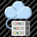 cloud, communication, internet, network, storage icon