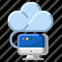 cloud, communication, computing, internet, network icon
