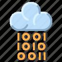 cloud, communication, digital, internet, network icon