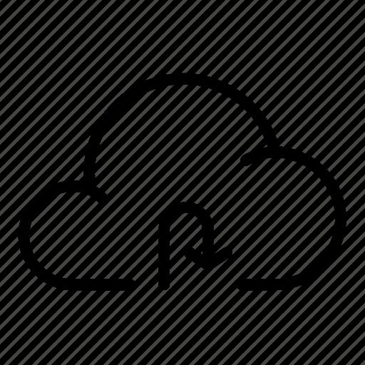 cloud, download, enterteinment, load, refresh, transfer icon