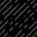 arrow, cloud, data, network, transfer icon