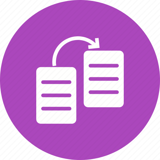 database, document, file, information, record, share, sharing icon