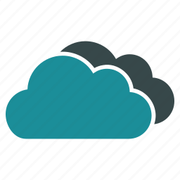 clouds, cloudy, forecast, online, storage, virtual, weather icon