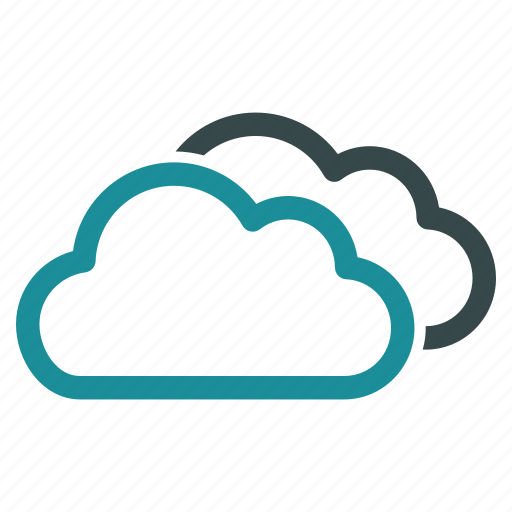 clouds, cloudy, contour, online, sky, virtual, weather icon