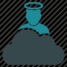 cloud, god, heaven, jesus, religion, religious, sky icon