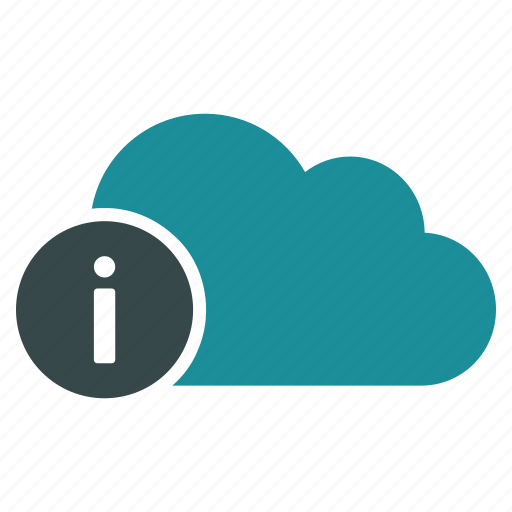 about, cloud, forecast, hint, info, information, weather icon