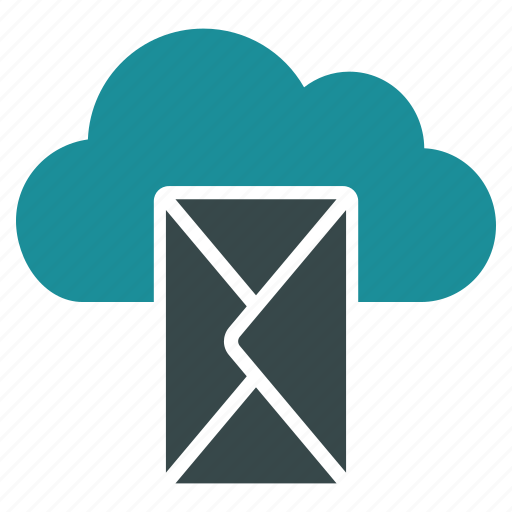 cloud, comment, email, envelope, letter, mail, message icon