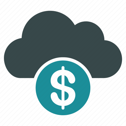 bank, banking, business, cloud, money, payment, storage icon