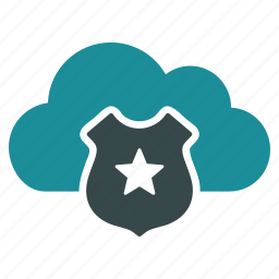 antivirus, cloud, online, password, protection, secure, security icon