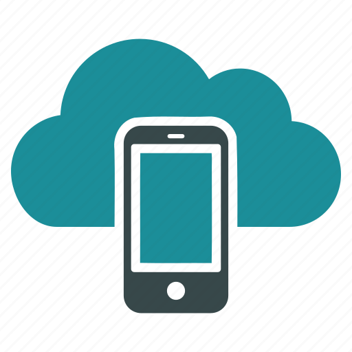 cloud, communication, connection, mobile, network, phone, smartphone icon