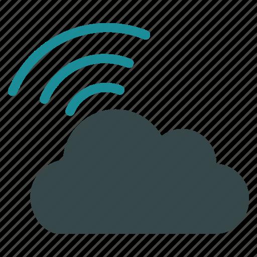 broadcast, cloud, internet, news, online, wi fi, wifi icon