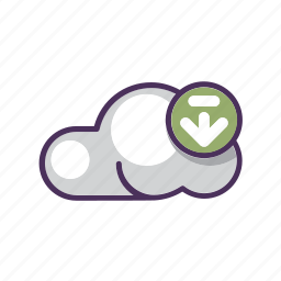arrow, cloud, data, download, file, storage, upload icon