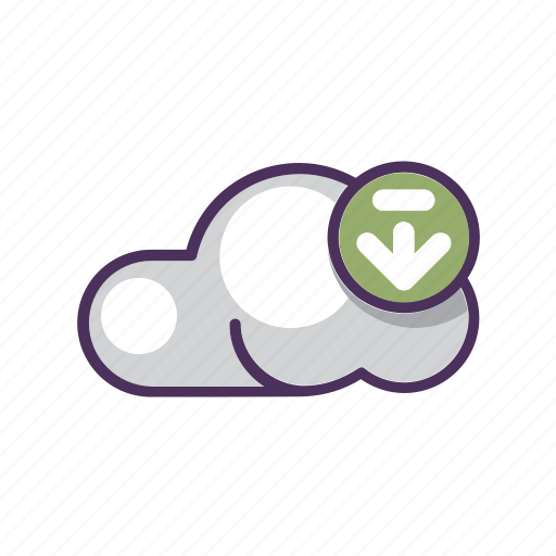 arrow, cloud, data, download, file, storage, upload icon