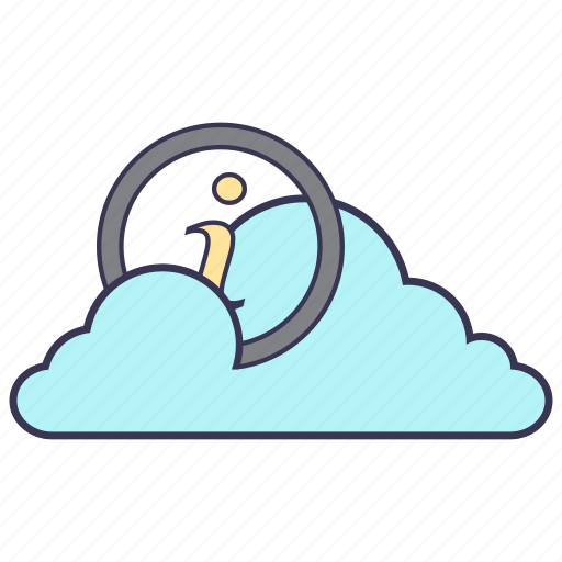 cloud, connection, help, information, internet, service, storage icon