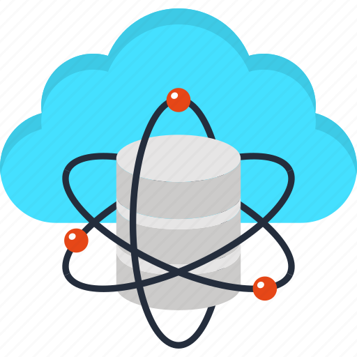 cloud, data, database, internet, science, server, storage icon