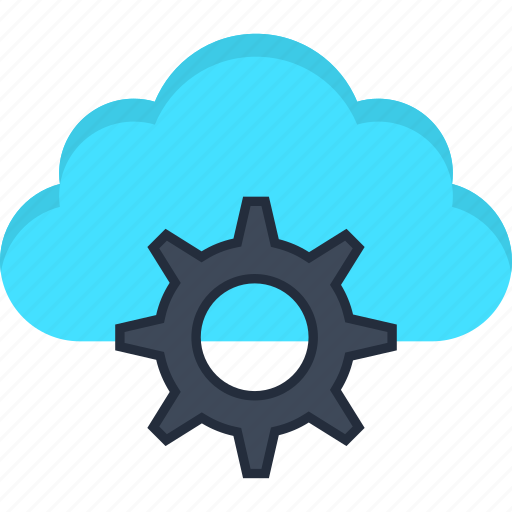 Cloud, engine, internet, learning, machine, settings, storage icon - Download on Iconfinder