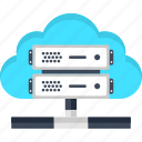 cloud, data, database, files, internet, server, storage icon