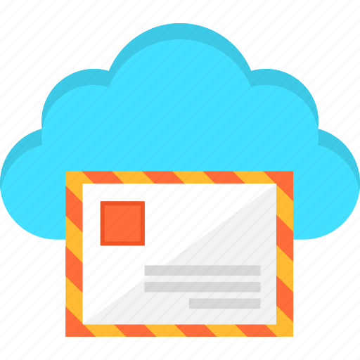 Cloud, e-mail, information, internet, letter, mail, storage icon - Download on Iconfinder