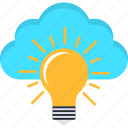 cloud, database, idea, seo, solution, storage, success icon