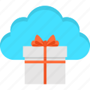 cloud, commerce, e-commerce, gift, giftbox, surprise, win icon