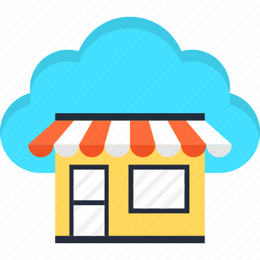 Cloud, e-commerce, market, online, shopping, website icon - Download on Iconfinder