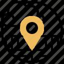 destination, gps, location, point, tracking