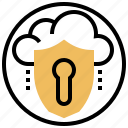 antivirus, lock, password, protection, security