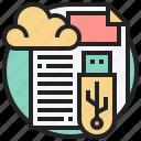 cloud, connect, convenient, files, storage