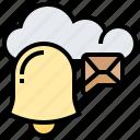 alert, inbox, message, notification, unread icon
