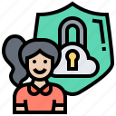cloud, data, personal, private, protection