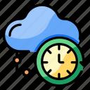 cloud, access, 24 hours, service, clock, connection, network