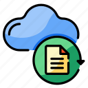cloud, data, recovery, restore, processing, repair, backup