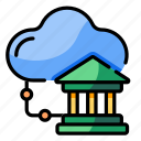 cloud, link, organization, corporate, connection, enterprise, banking