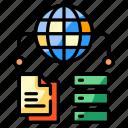 data, sharing, global, network, database, sever, storage