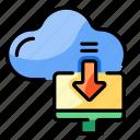 download, cloud, network, downloading, progress, import, transfer