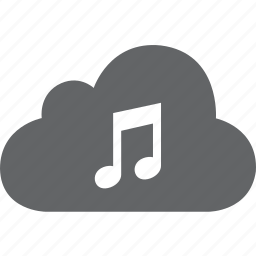 audio, cloud, music, radio, song, songs, sound icon