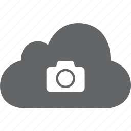 camera, cloud, photo, photos, pic, picture, snap icon